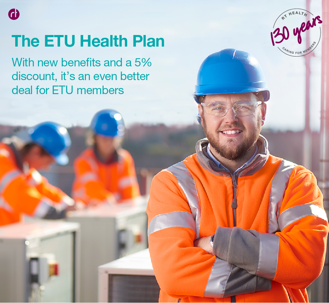 ETU Health Plan Banner